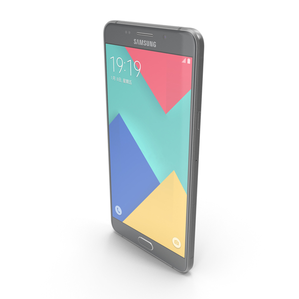 Samsung Galaxy A9 2016 Midnight Black PNG & PSD Images