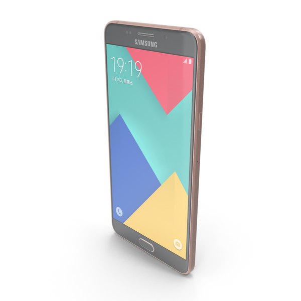Samsung Galaxy A9 2016 Pink PNG & PSD Images
