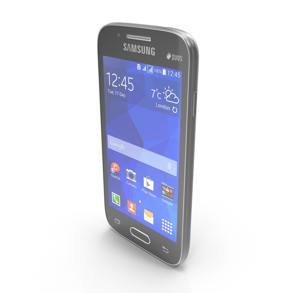 Samsung Galaxy Ace NXT Black & White PNG & PSD Images