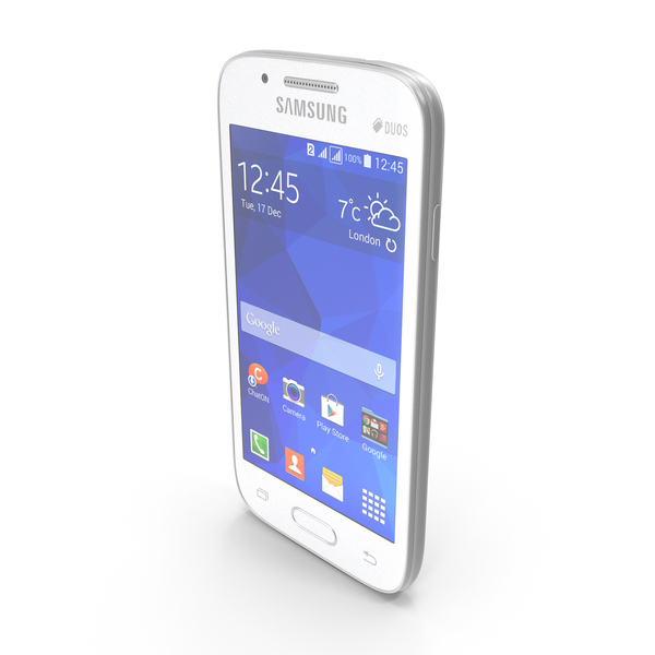 Samsung Galaxy Ace NXT White PNG & PSD Images