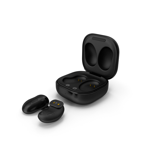 Samsung Galaxy Buds Live Mystic Black PNG & PSD Images