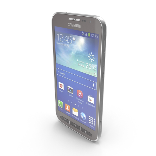 Smartphone: Samsung Galaxy Core Advance Deep Blue PNG & PSD Images