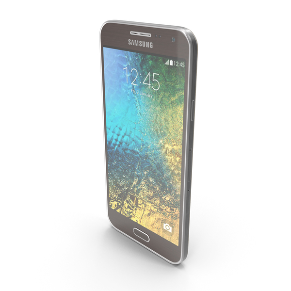 Smartphone: Samsung Galaxy E5 Brown PNG & PSD Images