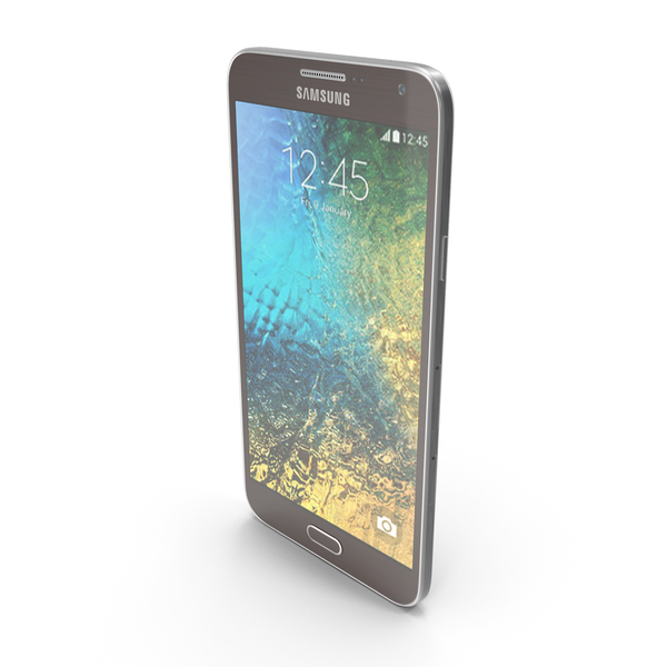 Smartphone: Samsung Galaxy E7 Brown PNG & PSD Images