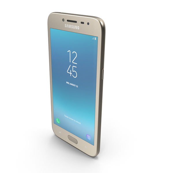 Samsung Galaxy J2 Pro (2018) Gold PNG & PSD Images