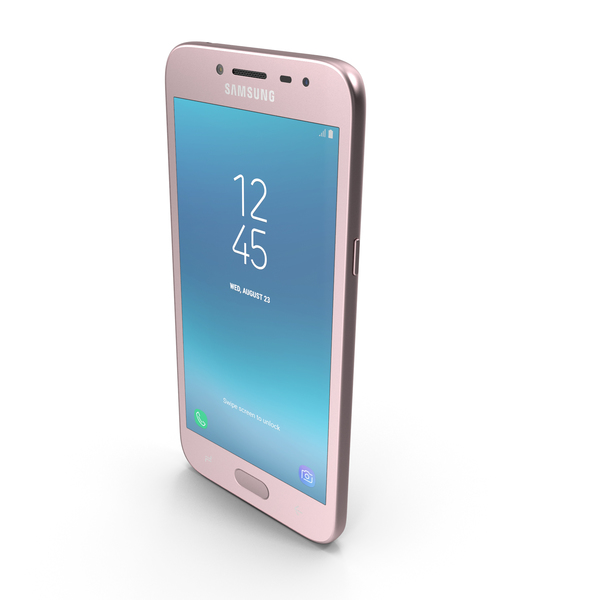 Samsung Galaxy J2 Pro (2018) Pink PNG & PSD Images