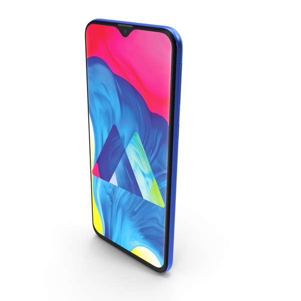 Samsung Galaxy M20 Ocean Blue PNG & PSD Images