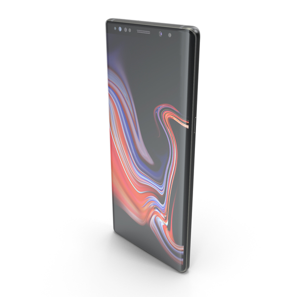 Samsung Galaxy Note9 Black PNG & PSD Images