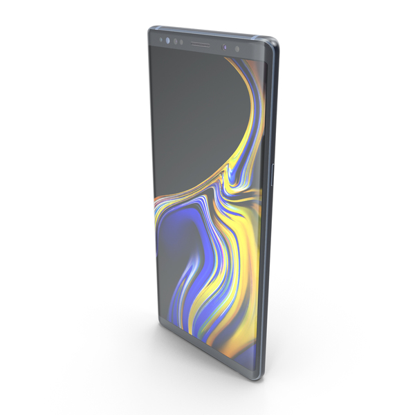 Samsung Galaxy Note9 Coral Blue PNG & PSD Images