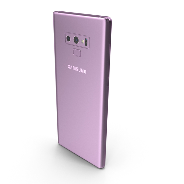 Samsung Galaxy Note9 Lavender Purple PNG & PSD Images