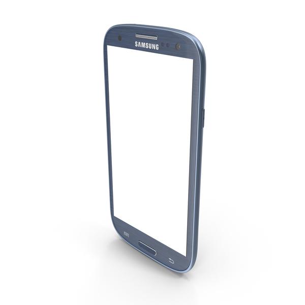 Samsung Galaxy S III Blue Object