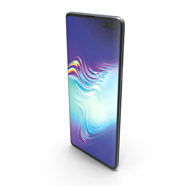 Smartphone: Samsung Galaxy S10 5G Majestic Black PNG & PSD Images