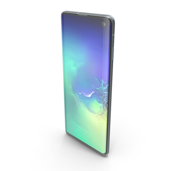 Samsung Galaxy S10 Prism Green PNG & PSD Images