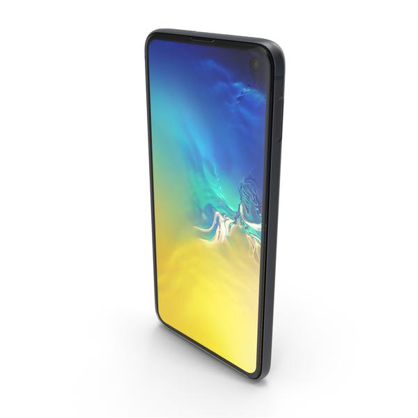Samsung Galaxy S10E Dark Blue PNG & PSD Images