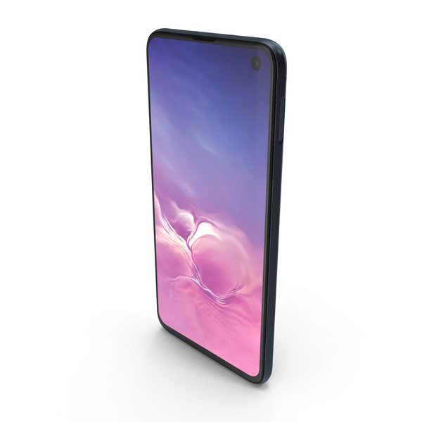 Samsung Galaxy S10e Prism Black PNG & PSD Images