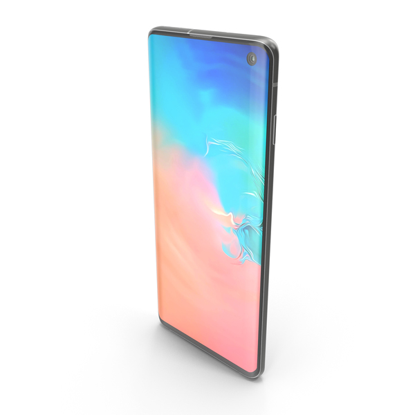Samsung Galaxy S10e Prism White PNG & PSD Images