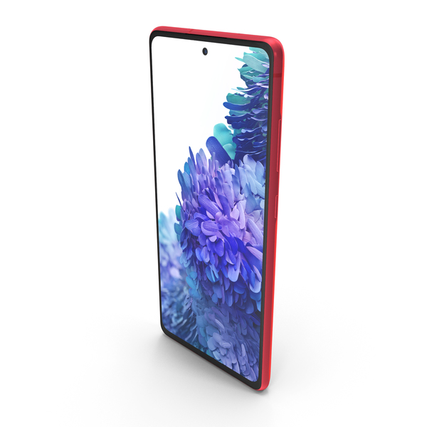 Samsung Galaxy S20 FE Red PNG & PSD Images