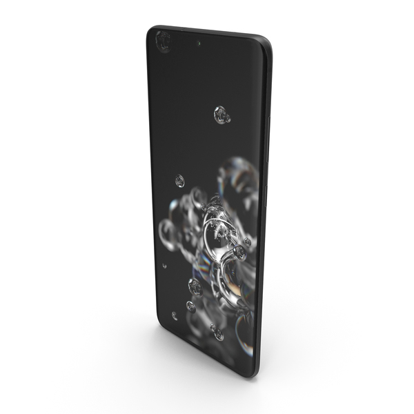 Samsung Galaxy S20 Ultra (5G) Cosmic Black PNG & PSD Images