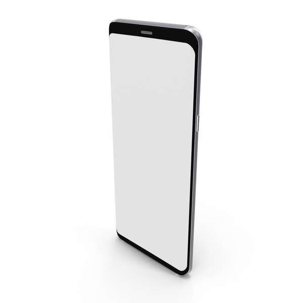 Samsung Galaxy S8 Arctic Silver PNG & PSD Images