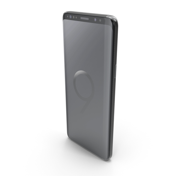 Samsung Galaxy S9 Midnight Black PNG & PSD Images
