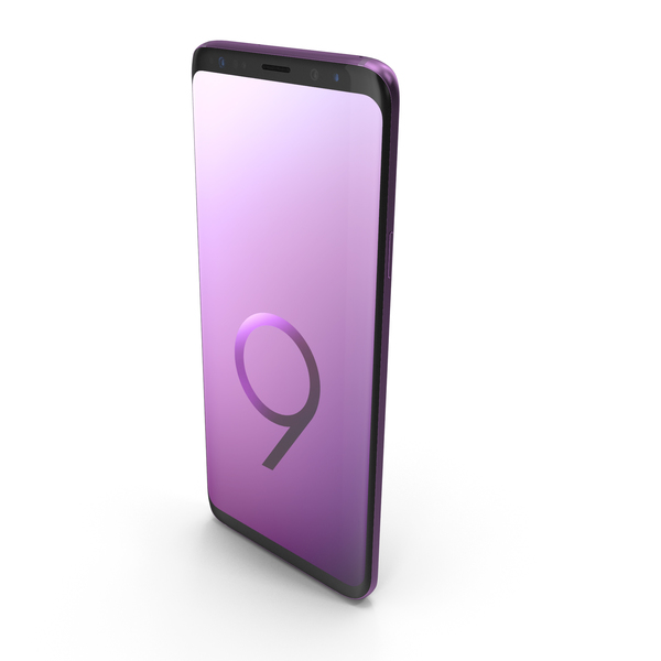 Samsung Galaxy S9 Plus Lilac Purple PNG & PSD Images