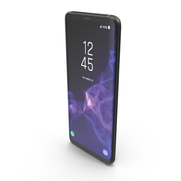 Samsung Galaxy S9 + PNG & PSD Images