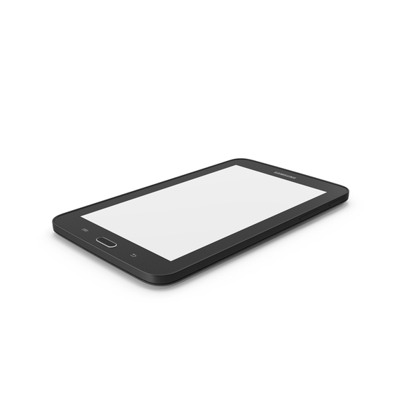 Tablet Computer: Samsung Galaxy Tab 3 Lite 7.0 PNG & PSD Images