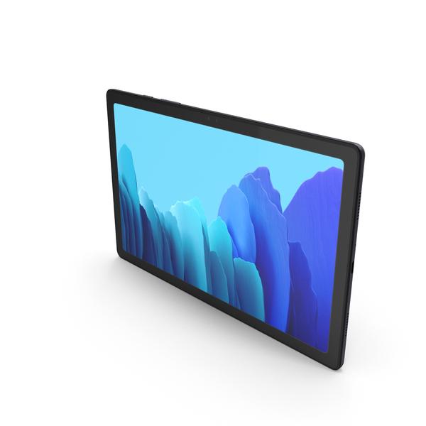 Samsung Galaxy Tab A7 10.4 2020 Gray PNG & PSD Images