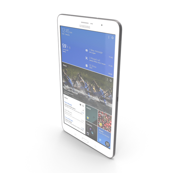 Smartphone: Samsung Galaxy Tab Pro 8.4 PNG & PSD Images