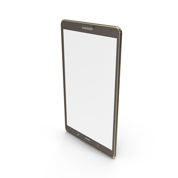 Tablet Computer: Samsung Galaxy Tab S 8.4 PNG & PSD Images