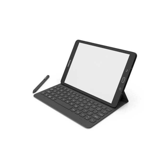 Tablet Computer: Samsung Galaxy Tab S3 PNG & PSD Images