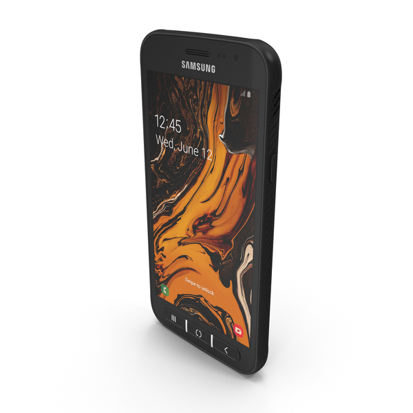 Smartphone: Samsung Galaxy XCover 4S PNG & PSD Images