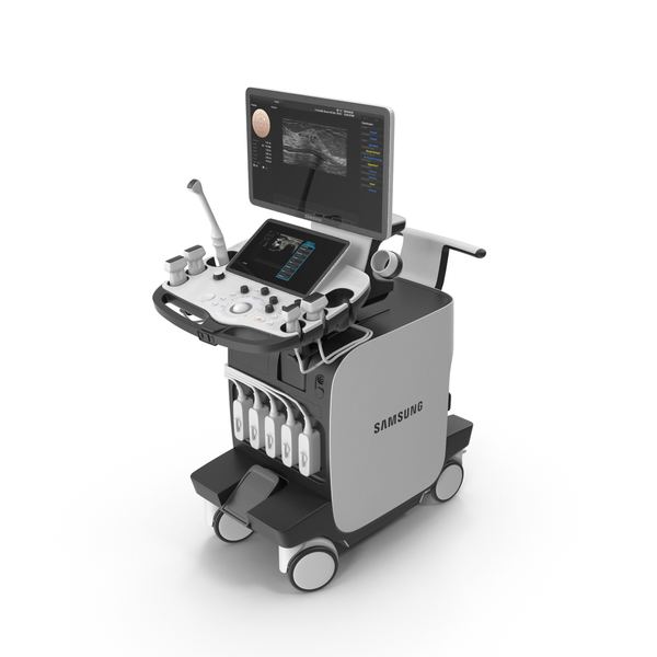 Samsung Medison RS80A Ultrasound Machine PNG & PSD Images