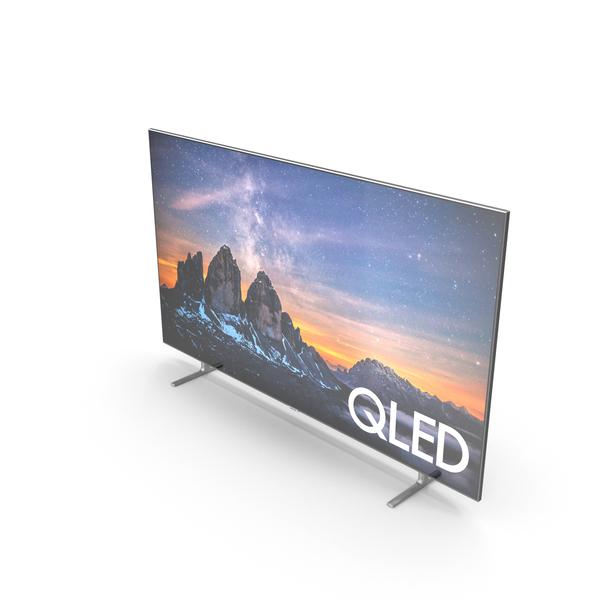 Samsung Q80R US QLED Smart 4K UHD TV 75 inch 2019 PNG & PSD Images