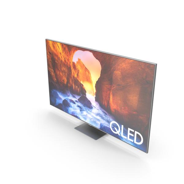 Samsung Q90R QLED Smart 8K UHD TV 75 inch 2019 PNG & PSD Images