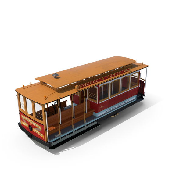 San Francisco Cable Car PNG & PSD Images