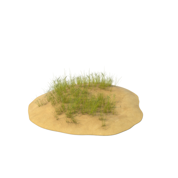 Sand Dunes with Grass PNG & PSD Images
