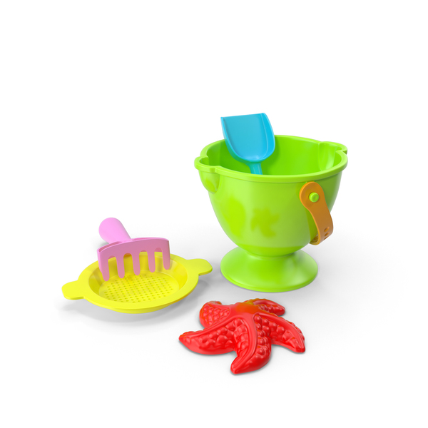 Sand Toys Playset PNG & PSD Images
