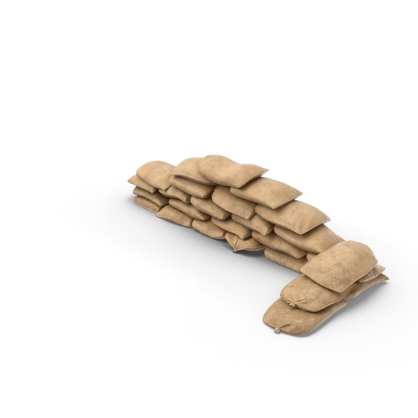 Sandbags: Sandbag Barricade Object