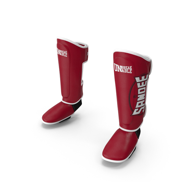 Protective Pads: Sandee Leather Boot Shinguard PNG & PSD Images