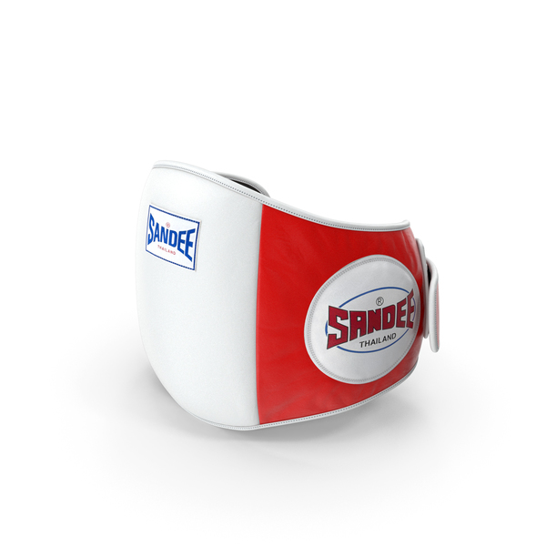 Sandee Velcro Belly Pad Maneken White Red PNG & PSD Images