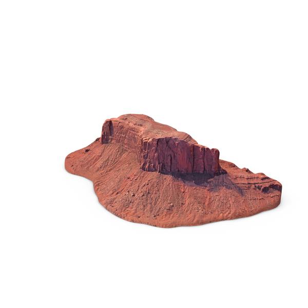 Sandstone Butte PNG & PSD Images
