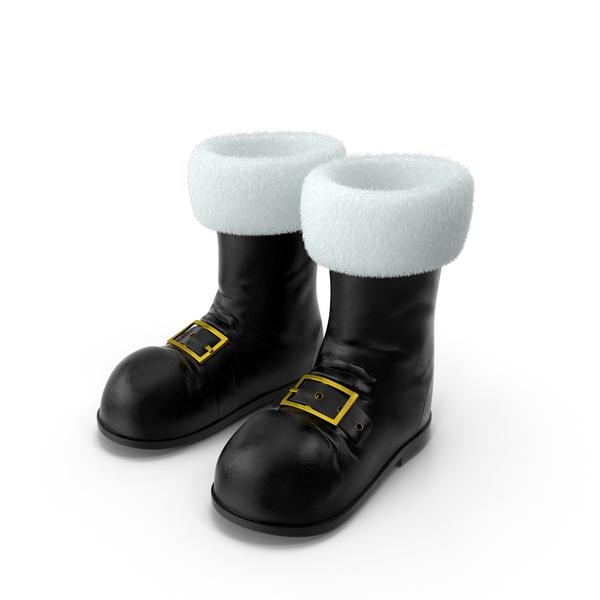 Santa Boots PNG & PSD Images