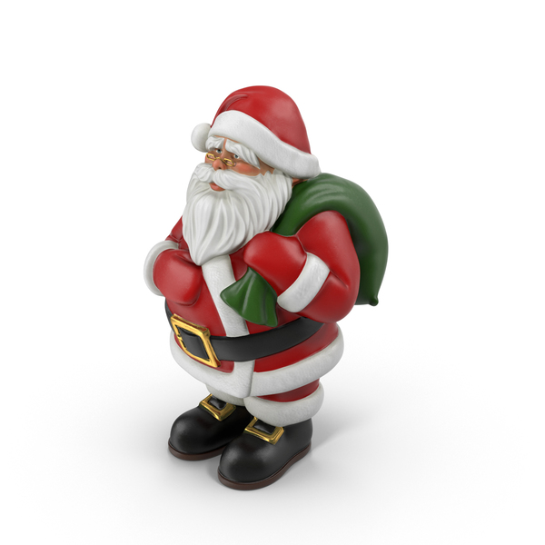 Santa Claus Statue Object