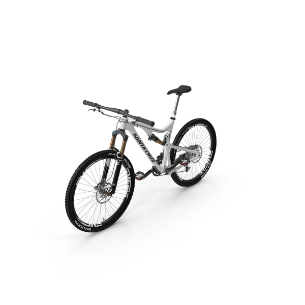 Santa Cruz Mountain Bike PNG & PSD Images
