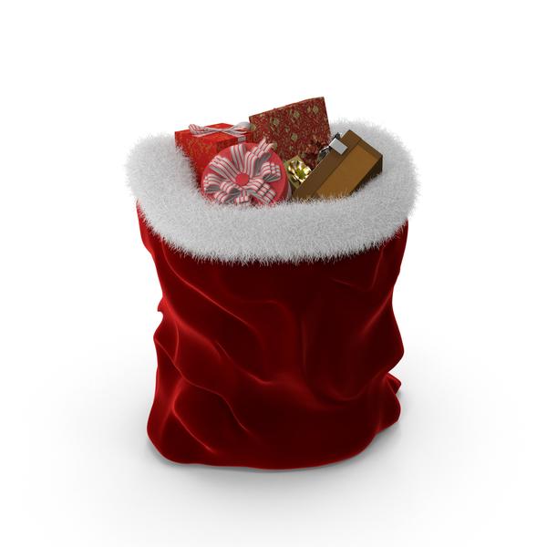 Santa: Santa's Bag PNG & PSD Images