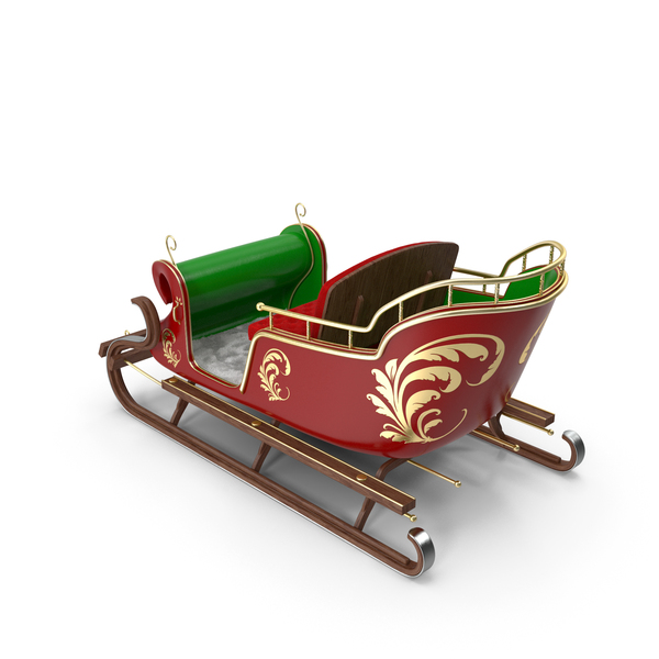 Santa Sleigh PNG & PSD Images