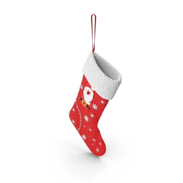 Santa Stocking PNG & PSD Images