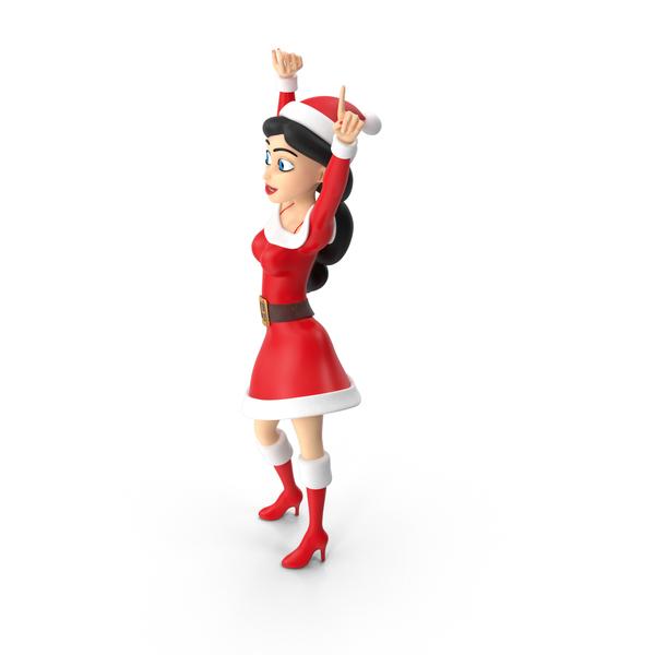 Santa Woman PNG & PSD Images