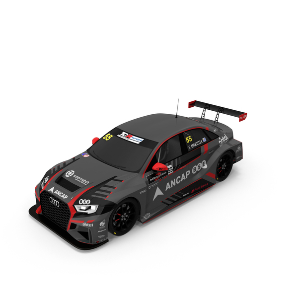 Race Car: Santiago Urrutia's Audi RS3 LMS PNG & PSD Images